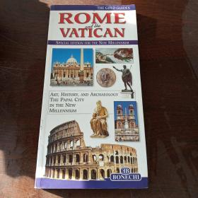 THE GOLD GUIDES ROME AND THE VATICAN(旅行指南,新千年特别版)