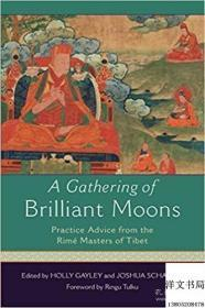 【包邮】A Gathering of Brilliant Moons: Practice Advice from the Rime Masters of Tibet ;2017年出版