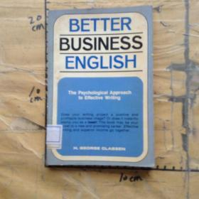 BETTER BUSINESS ENGLISH