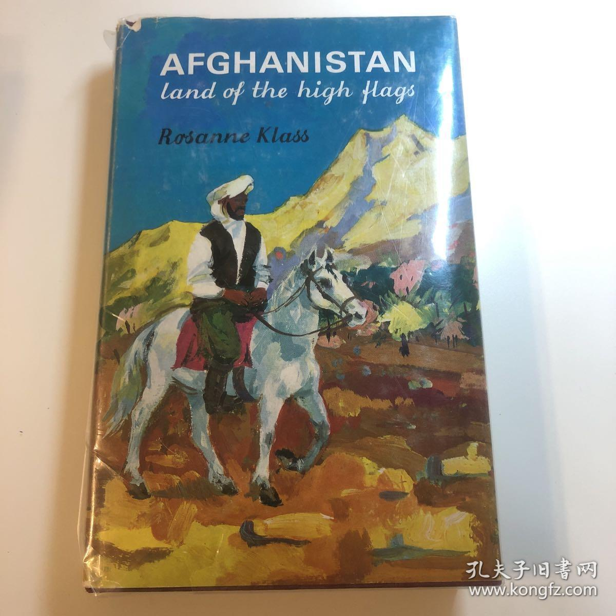 Afghanistan:land of the high flags(照片为实物)