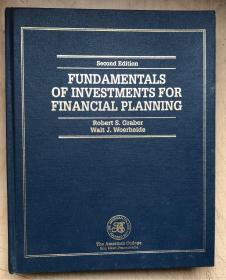 FUNDAMENTALS OF INVESTMENTS FOR FINANCIAL PLANNING(第2版,英文原版,宽16开硬精装)