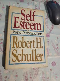 self esteem robert h.schuller【有点破损 馆藏】自然旧
