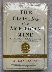 THE CLOSING OF THE AMERICAN MIND(大32开平装本)