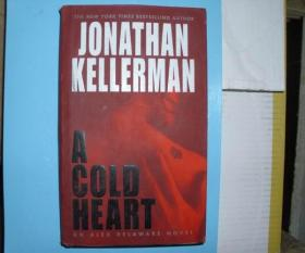 原版英文书 精装本 JONATHAN KELLERMAN A COLD HEART