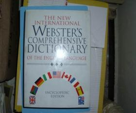 原版英文书 精装本 THE NEW INTERNATIONAL WEBSTER'S COMPREHENSIVE DICTIONARY