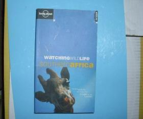 英文原版书 Watching Wildlife Southern Africa