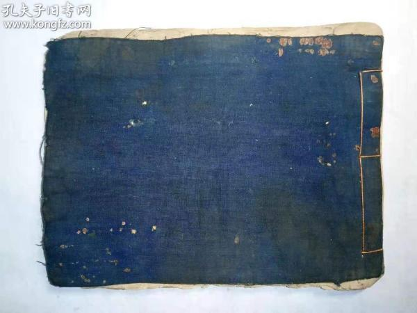 "Qing Min's ""Miscellaneous Chronicles"", porcelain blue seal, red grid version, the content of the Three Kingdoms, remedies, couplets, yin and yang, date selection, idioms, essays, etc., quite informative. 20.5 * 15.5 * 0.7, six or five grades."