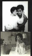 七十--九十年代的电影剧照(黑白照片,规格约15*12厘米)--小婉的故事(8张)