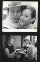 七十--九十年代的电影剧照(黑白照片,规格约15*12厘米)--兰衫女匪(8张)