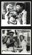 七十--九十年代的电影剧照(黑白照片,规格约15*12厘米)--钻石胳膊(8张)