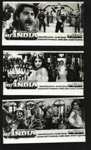 七十--九十年代的电影剧照(黑白照片,规格约15*8厘米)--印度先生(8张)