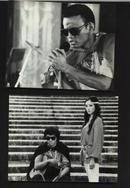 七十--九十年代的电影剧照(黑白照片,规格约15*12厘米)--椰城故事(一套8张)