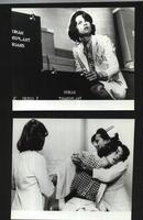 七十--九十年代的电影剧照(黑白照片,规格约15*12厘米)--昏迷(一套8张)