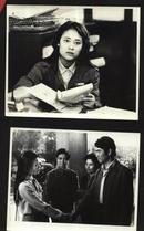 七十--九十年代的电影剧照(黑白照片,规格约15*12厘米)--男人们和女人们(一套8张)