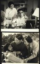 七十--九十年代的电影剧照(黑白照片,规格约15*12厘米)--排球之光(一套8张)
