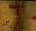 民国版:《中国文学史讲话》(白马湖作家群作家胡行之著,下卷目录页5-6品稍歉,如图)
