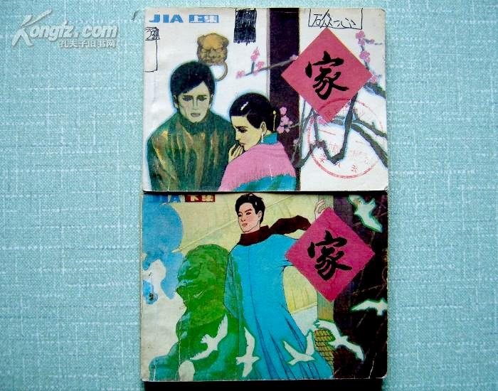 家(上下册全)/85年一版一印/连环画