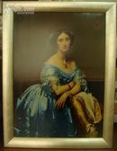 特价带木框油画-安格尔  加拉德玻林娜?埃莲诺尔