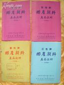 国产颜料产品说明书(1958年)