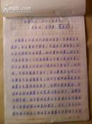 手稿26页:《试论岷江上游的石棺葬文化》