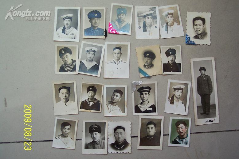 六十年代左右的军人照片相片共22张