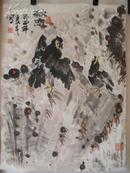 画家 王成 画[67x48cm]