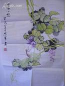 梁恩军画一幅(69x45cm)