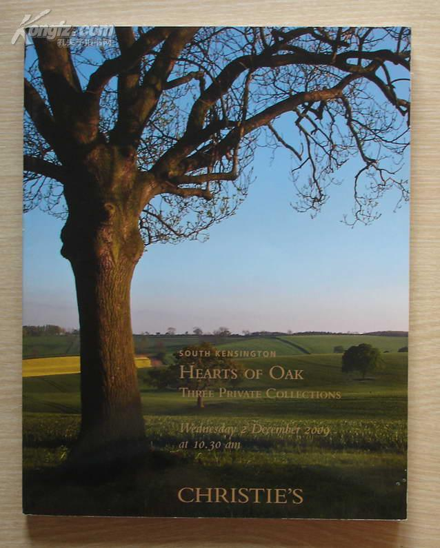 佳士德南肯辛顿拍卖行2009年12月拍---西洋艺术品 拍卖图录