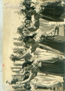 新华社展览图片[50年代]各族妇女欢度节日 宽 25cm长16cm