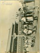 新华社展览图片[50年代] 各族民众欢庆节日宽 25cm长16cm