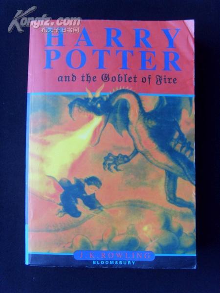 英文版《Harry Potter and the Goblet of Fire 》(哈利·波特与火焰杯)