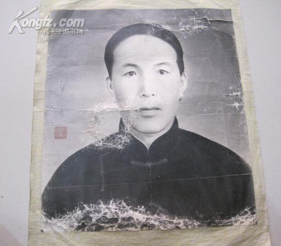 民国 江苏宜兴籍 徐悲鸿人物素描,尺寸为 36*41cm