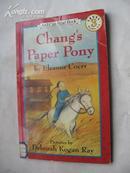 88年外文原版书《张的纸小马》书名见图片32开平装64页