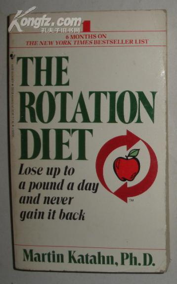 【英语】英文原版书《 The Rotation Diet 》 Martin Katahn 著