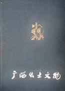 广西出土文物(8开布面精装本)带函套 78年1版1印 9品