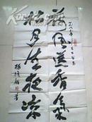 杨清鉴书法作品,尺寸96*54cm