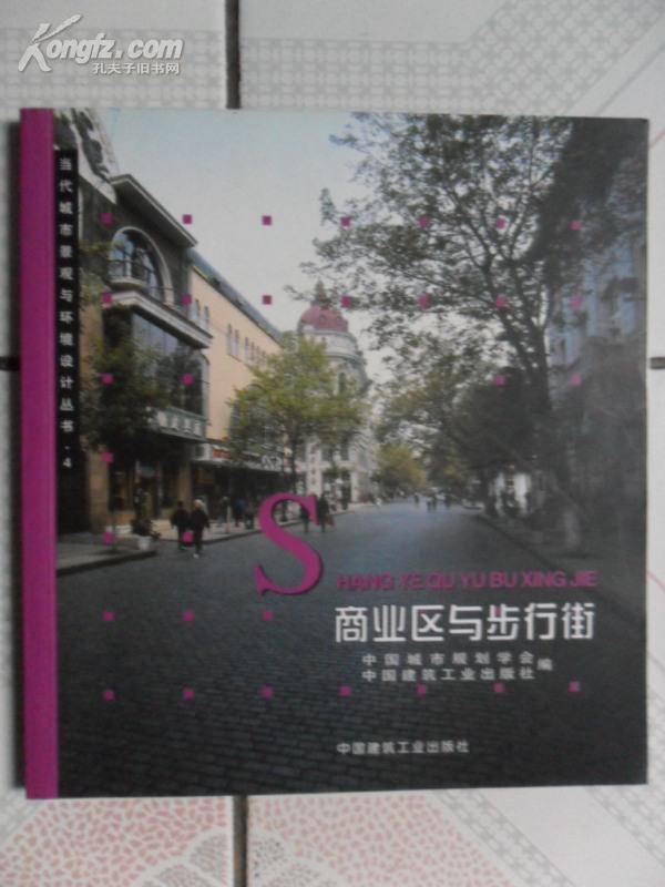 当代城市景观与环境设计丛书.4:商业街区与步行街(20开 铜板彩印)