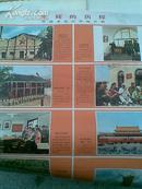 光辉的历程—我国革命纪念地介绍  2开 2张 新华社 供稿 1972年5月 一版一印  书号8,3,342  八品  边部已撕开