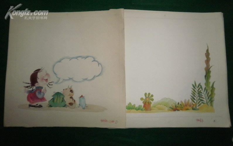 幼儿园中班音乐:精美彩色卡纸绘画原稿24幅全