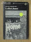 72版LeRoi Jones:Home 黑人汗青研究 英文原版书