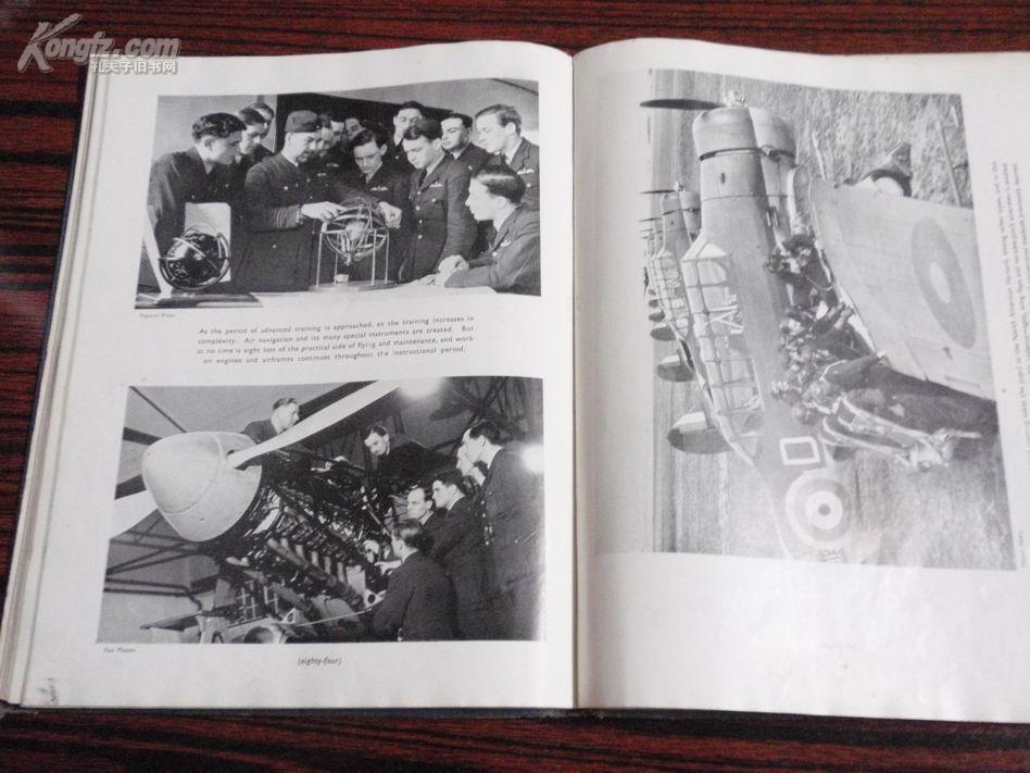 外文原版:the royal air force in pictures(1939年前后出版)补图(勿订!) L2