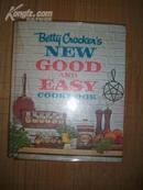 英文原版书《Betty Corkei\s new good and easy cookbook》(贝蒂科克的新产品及简易烹饪手册)(16开精装彩印)