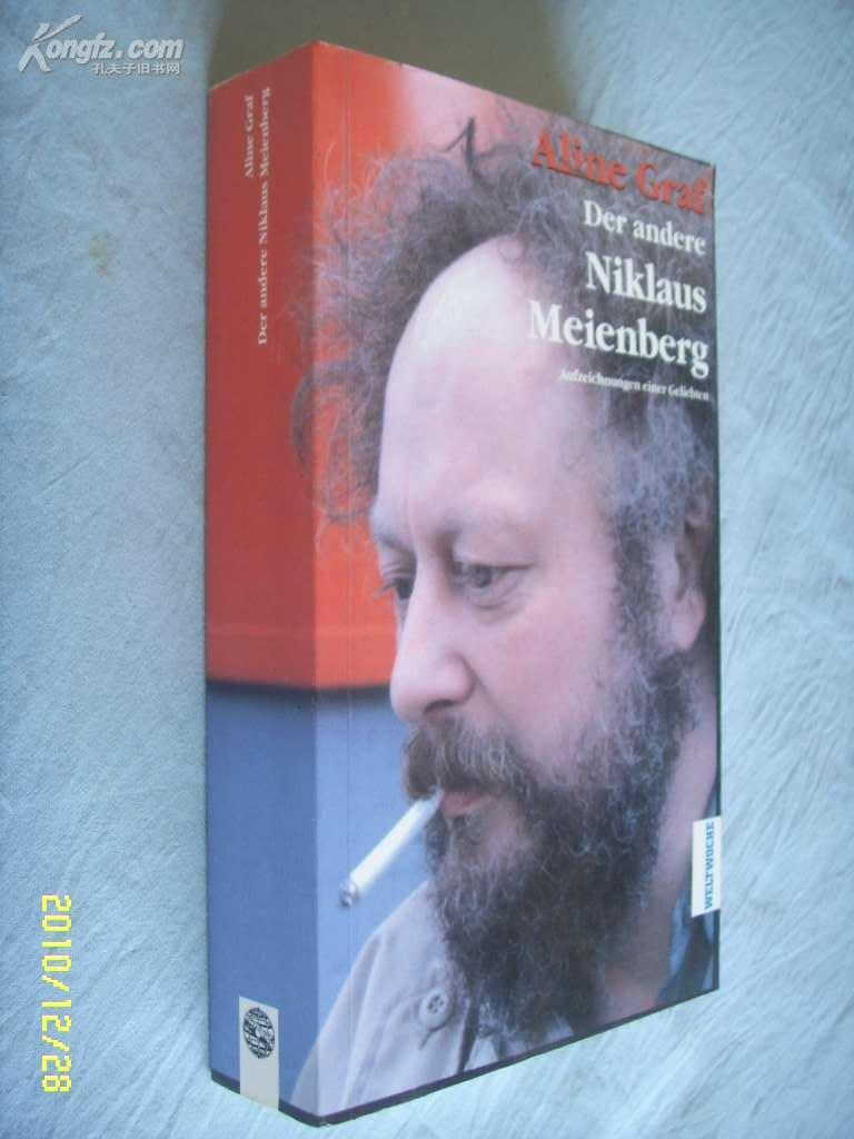 德文原版         Der andere Niklaus Meienberg