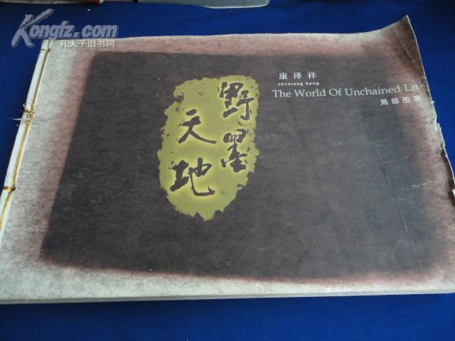 野墨天地局部图集(原书稿)【约重4.2公斤】