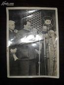 毛主席老照片 (开国大典)尺寸14.6X10.6厘米
