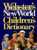 美国进口原装 Webster\s New World Children\s Dictionary