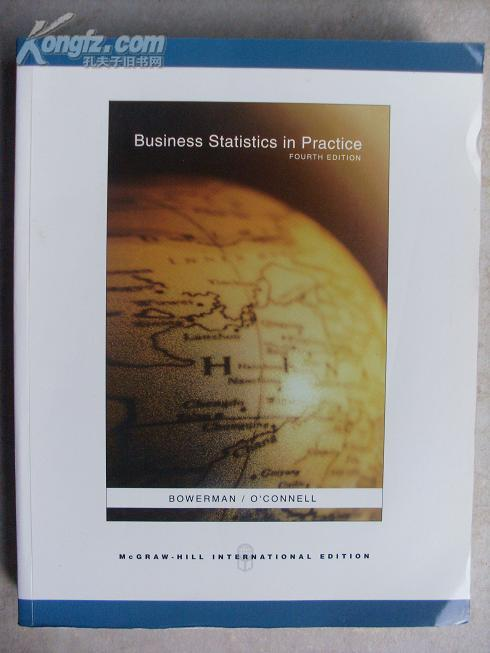 Business statistics in practice (统计实践,英文原版)