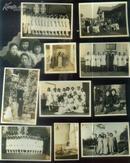 三育中学及青岛市立医院护士学校学生、上海疗养院医生贾慧英等在抗战时期老照片11张【尺寸与图片一致】