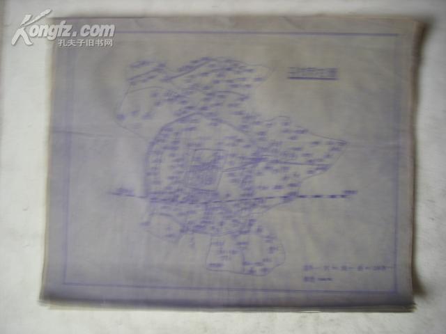 开封市地图 [手绘晒图]