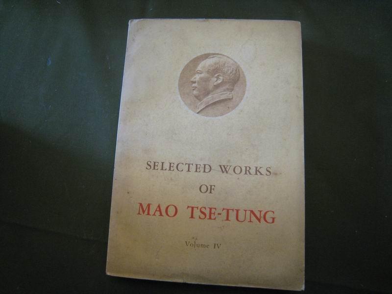 13658   毛泽东选集·第四卷·英文版·包邮挂